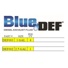 BlueDEF Diesel Exhaust Fluid